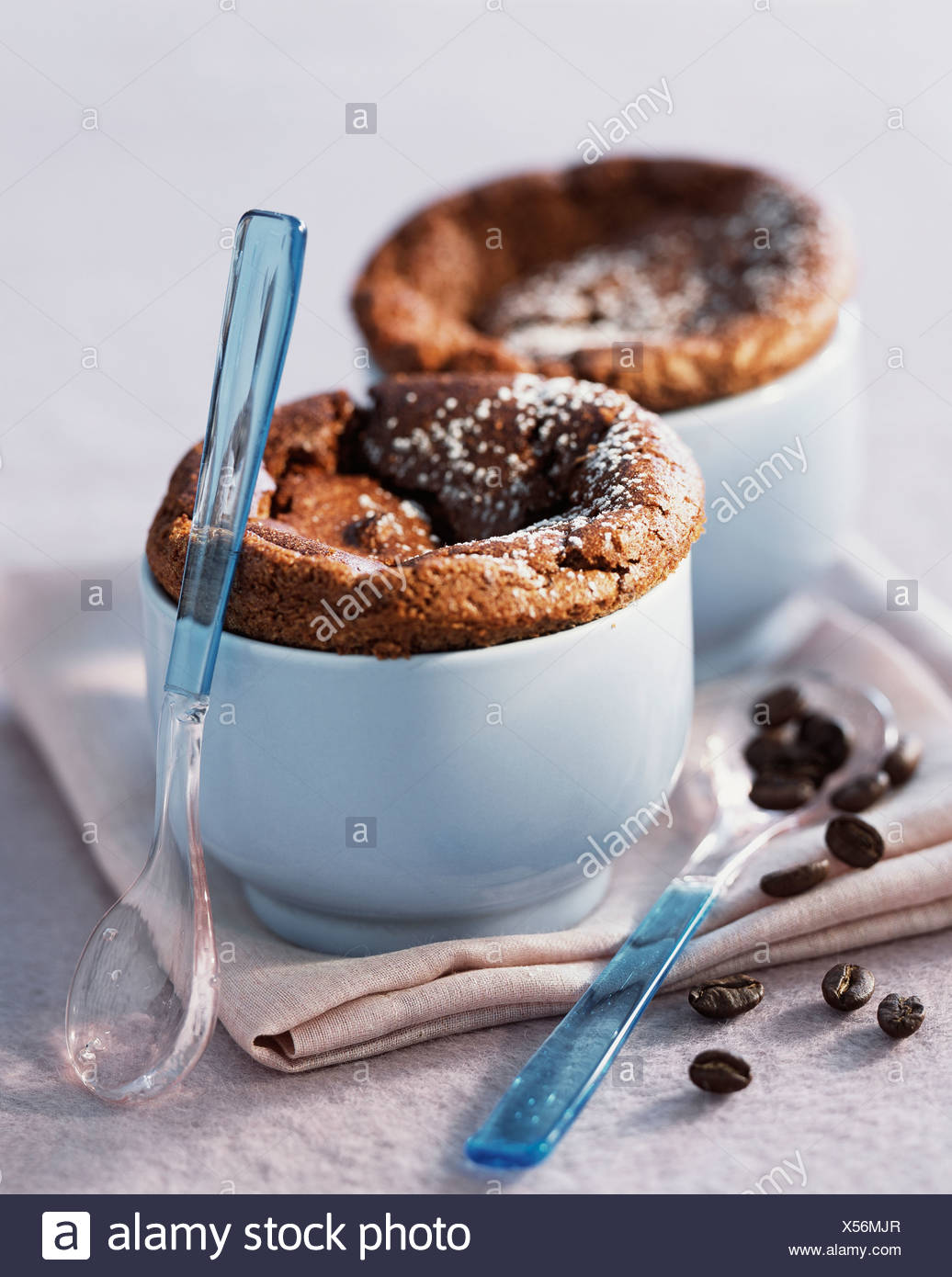Coffee souffle - Stock Image
