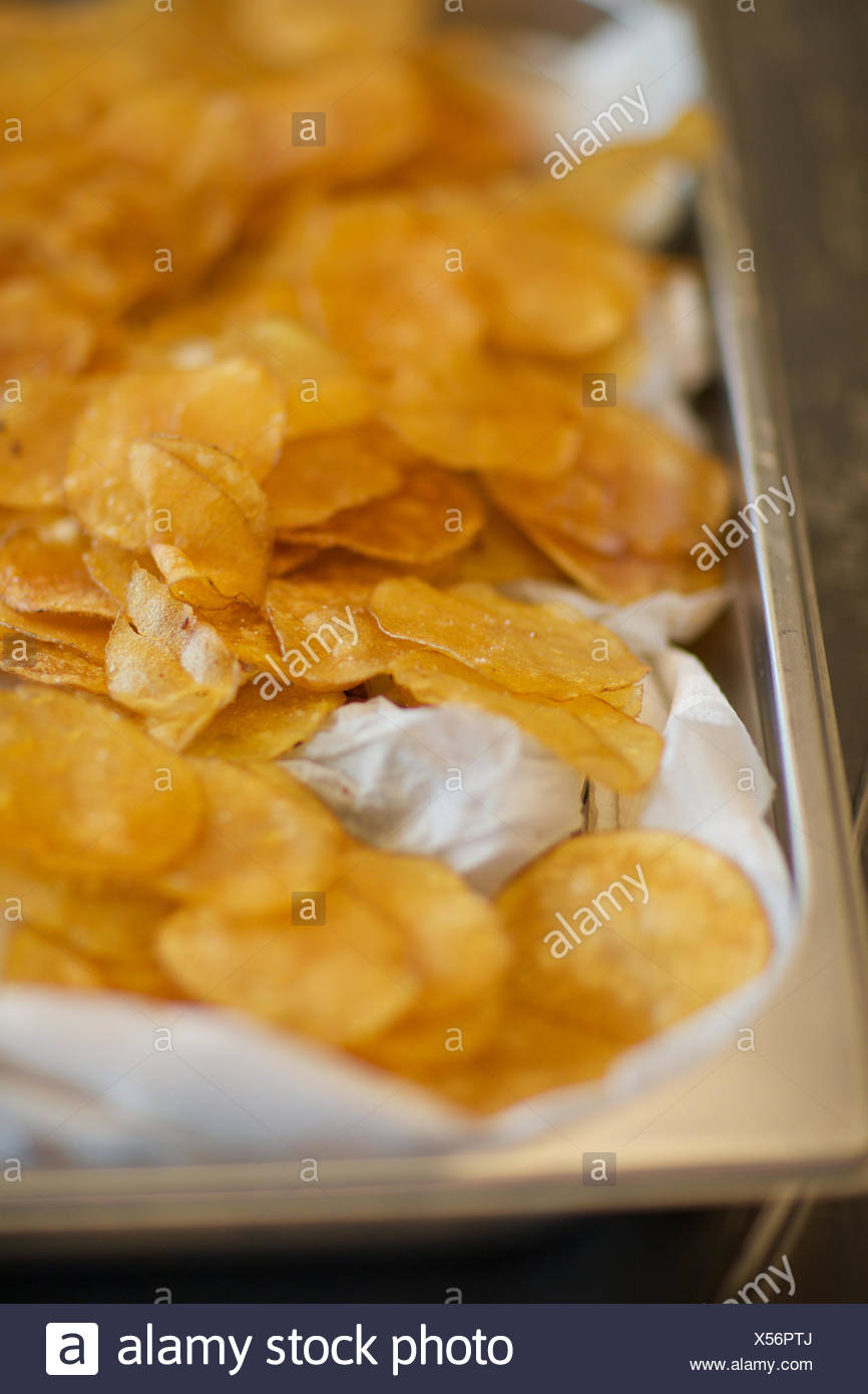fresh corn flakes. tray, cereal, crunchy, food. - Stock Image