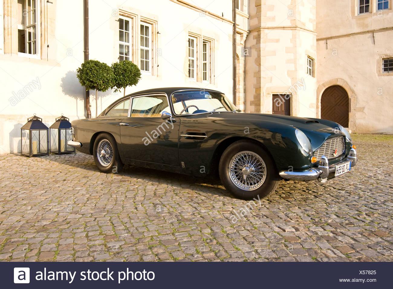 Aston Martin DB5, Aston Martin Meet, Lower Saxony, Germany, Europe - Stock Image