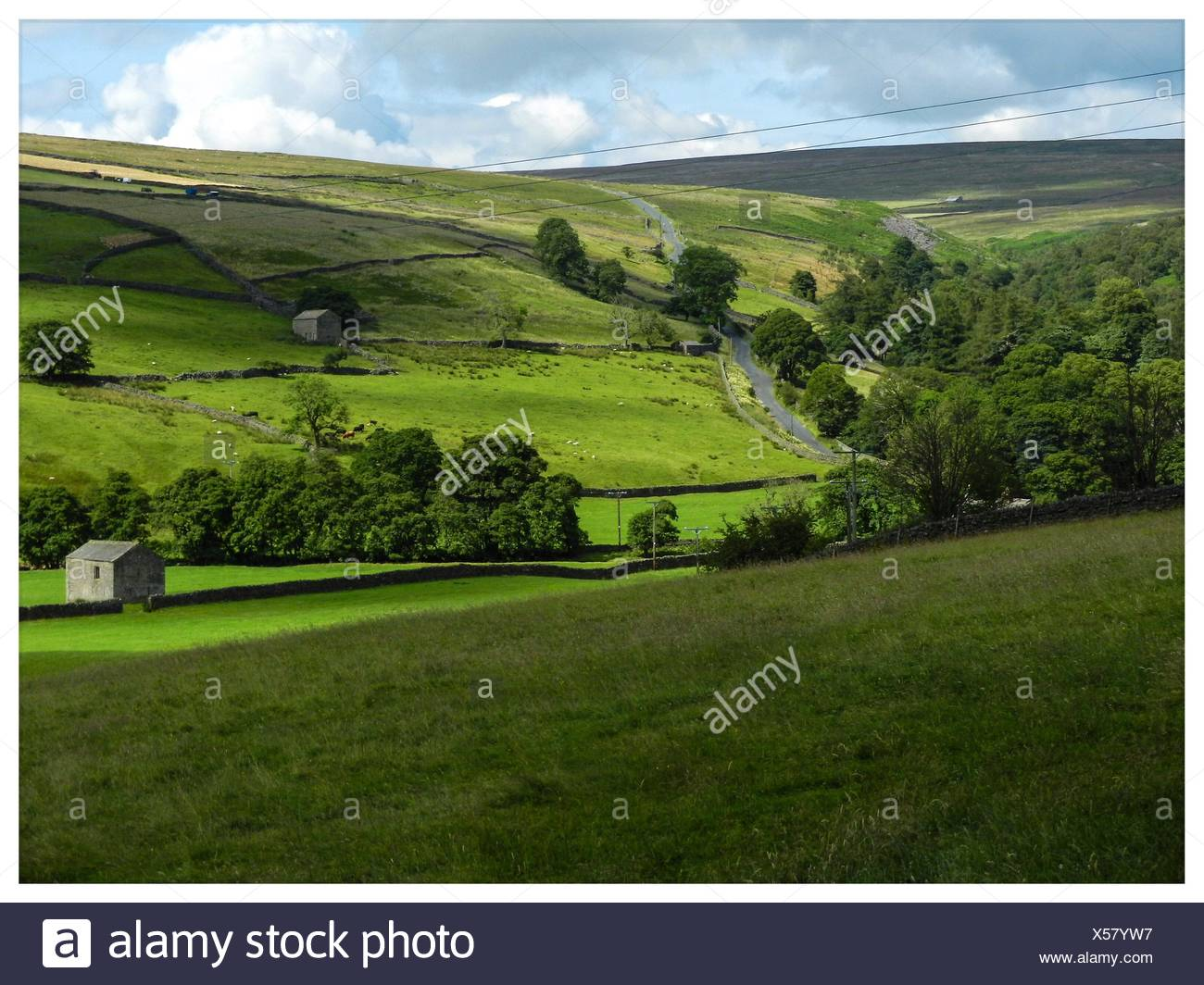 Arkengarthdale, Yorkshire 2 Stock Photo