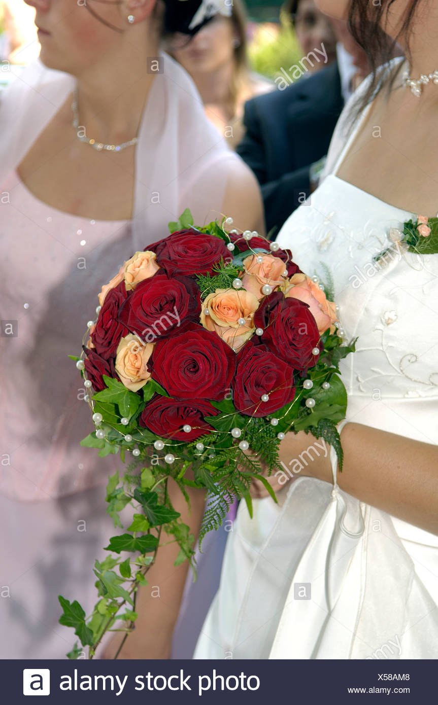 Person S Hand Holding Bouquet Stock Photos Person S Hand Holding