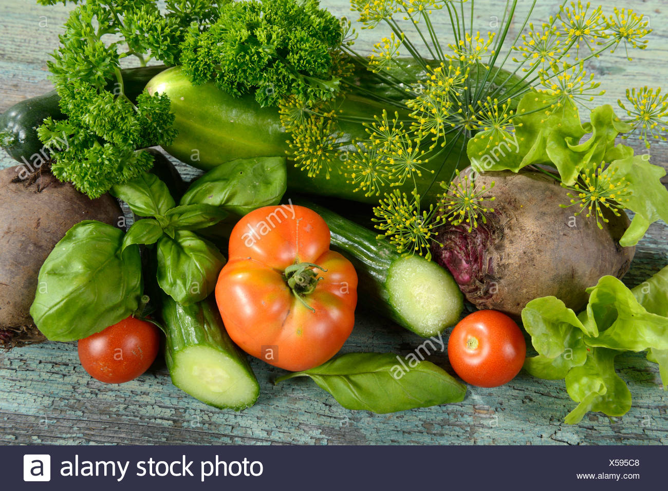 Several vegetables - Stock Image