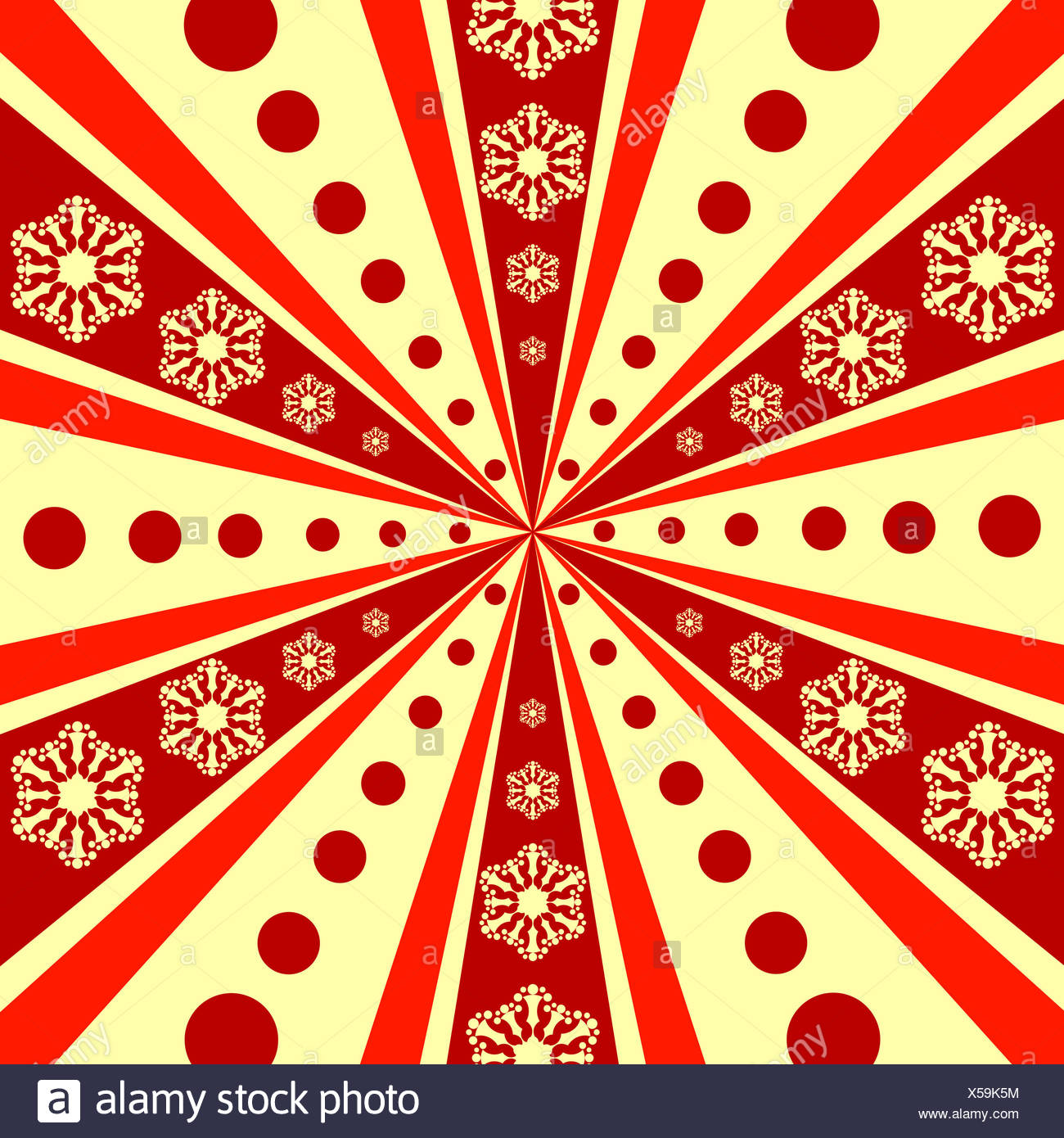 Christmas abstract background - Stock Image