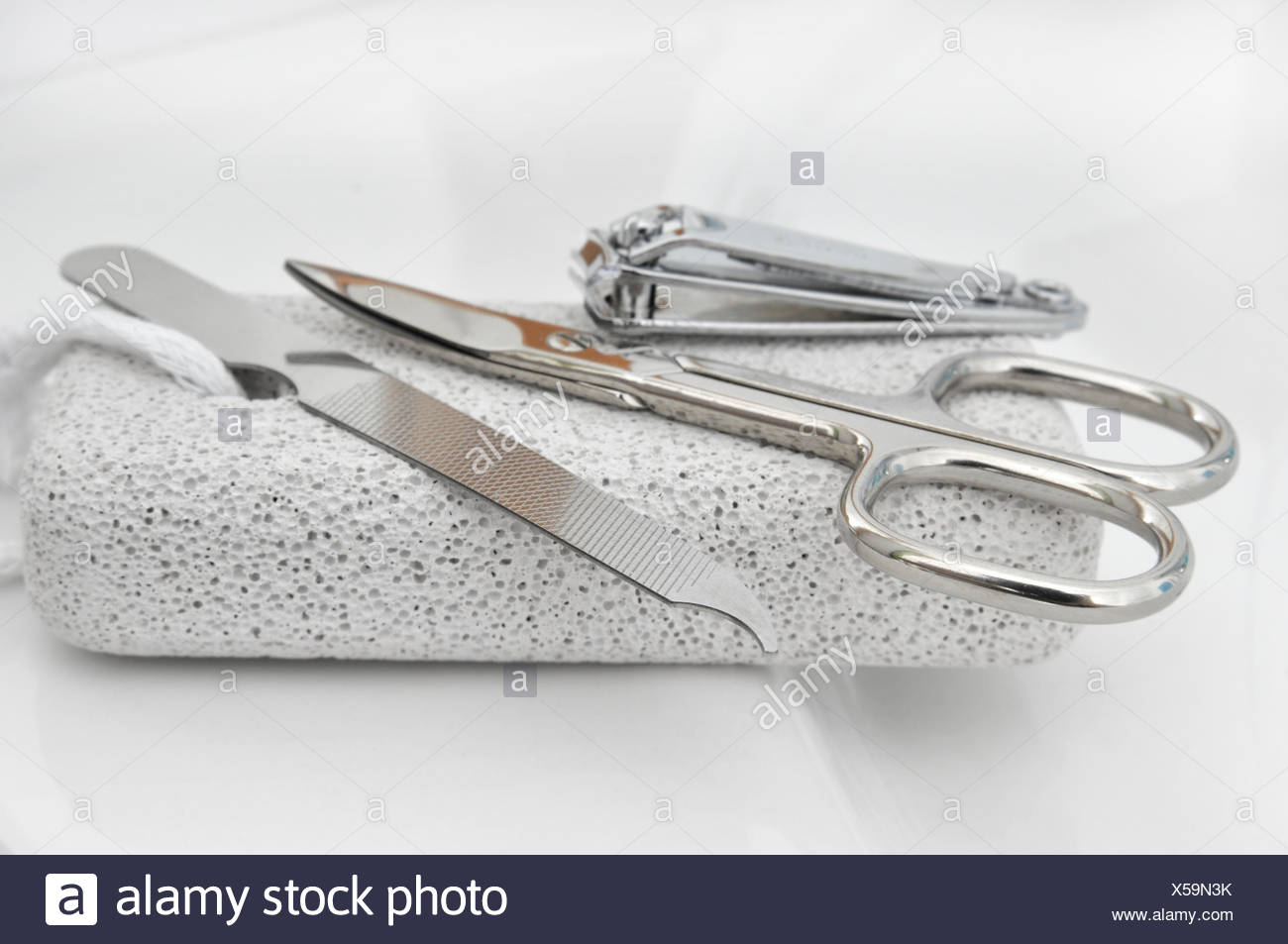 manicure nail clippers nail file Stock Photo: 278653303 - Alamy