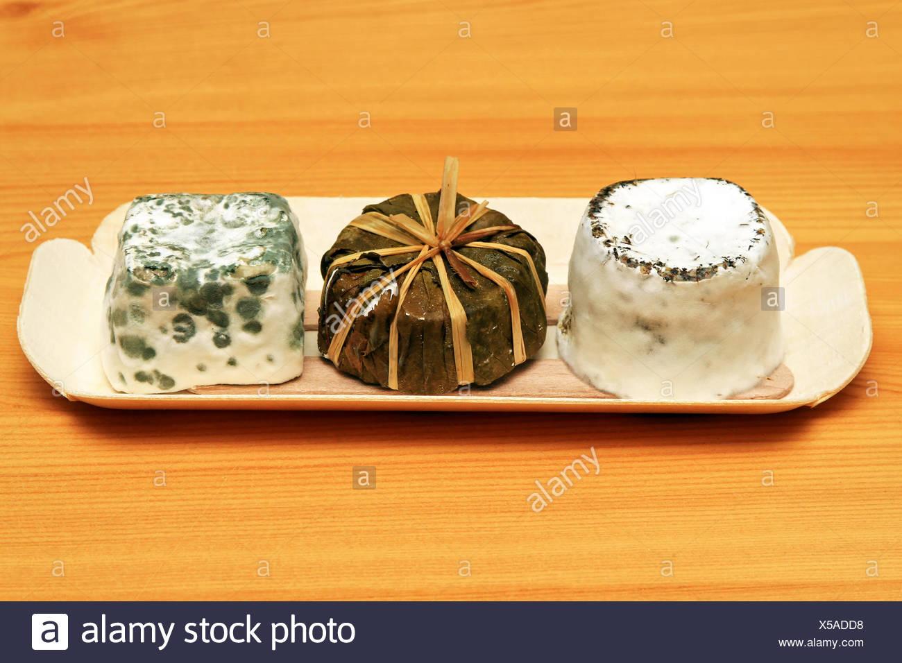 Chevre cheese - Stock Image