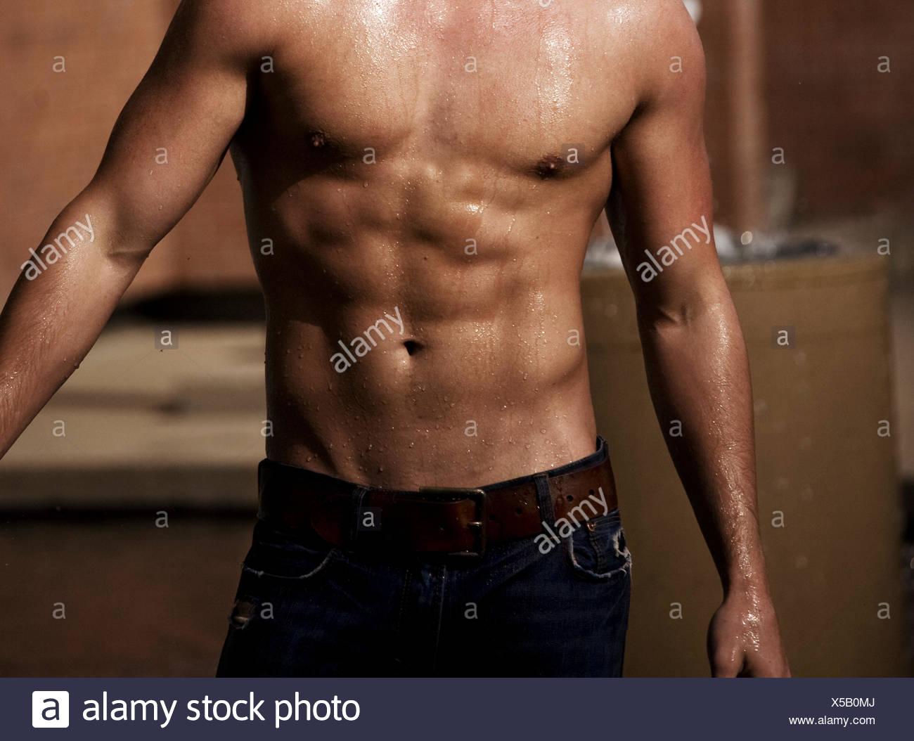 Wet muscles