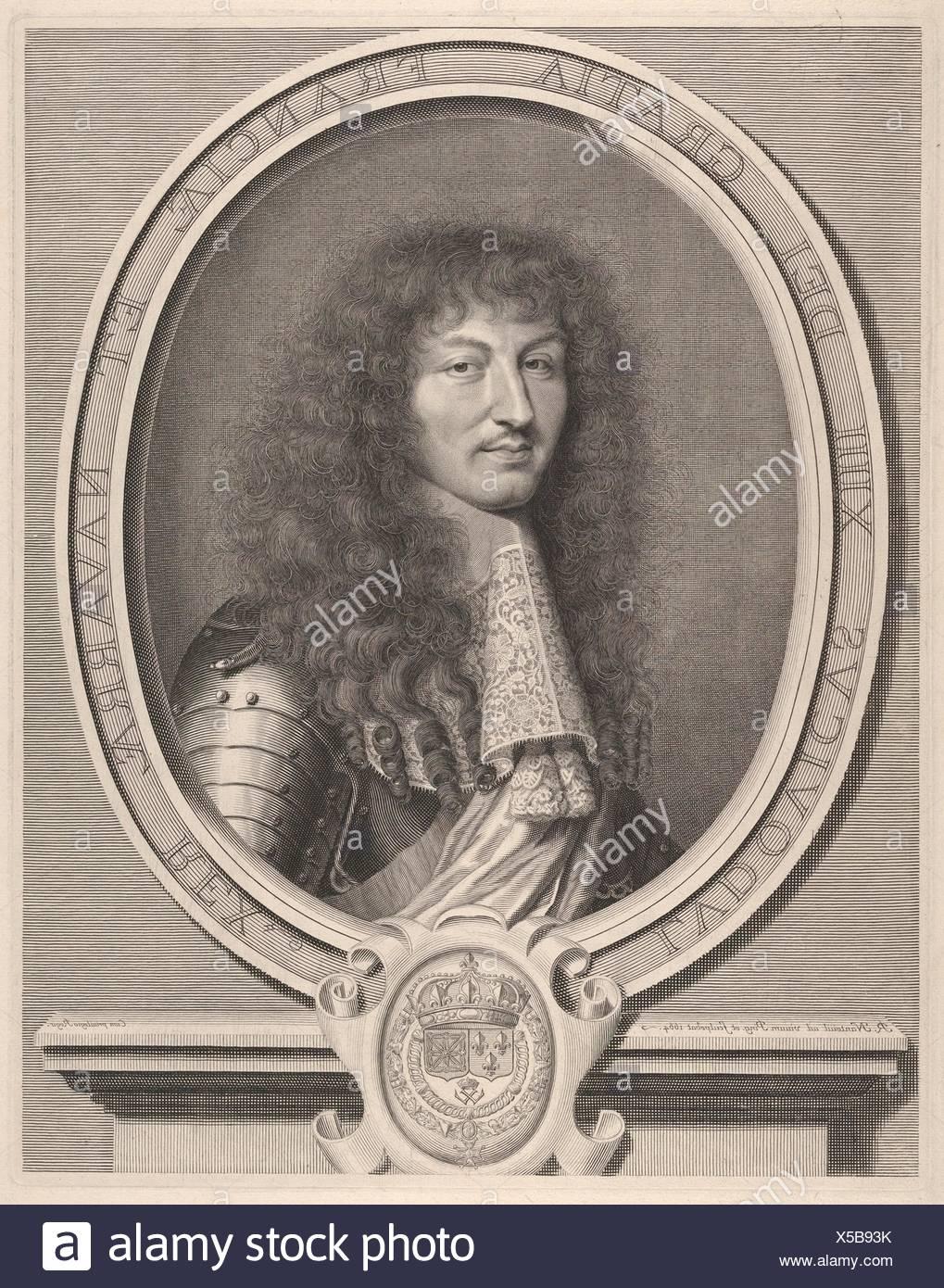 Louis XIV. Artist: Robert Nanteuil (French, Reims 1623-1678 Paris)
