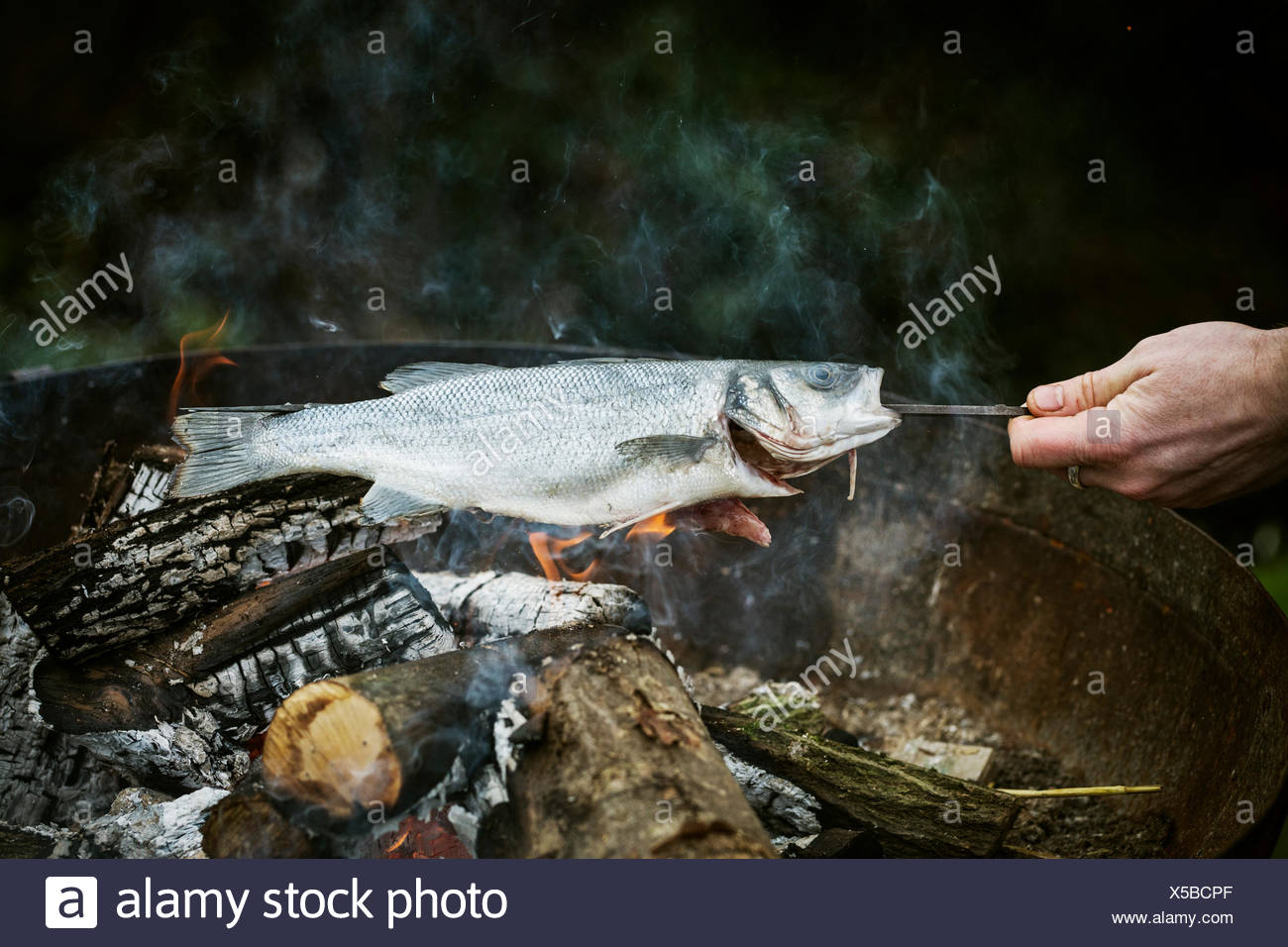 how to barbecue whole fish