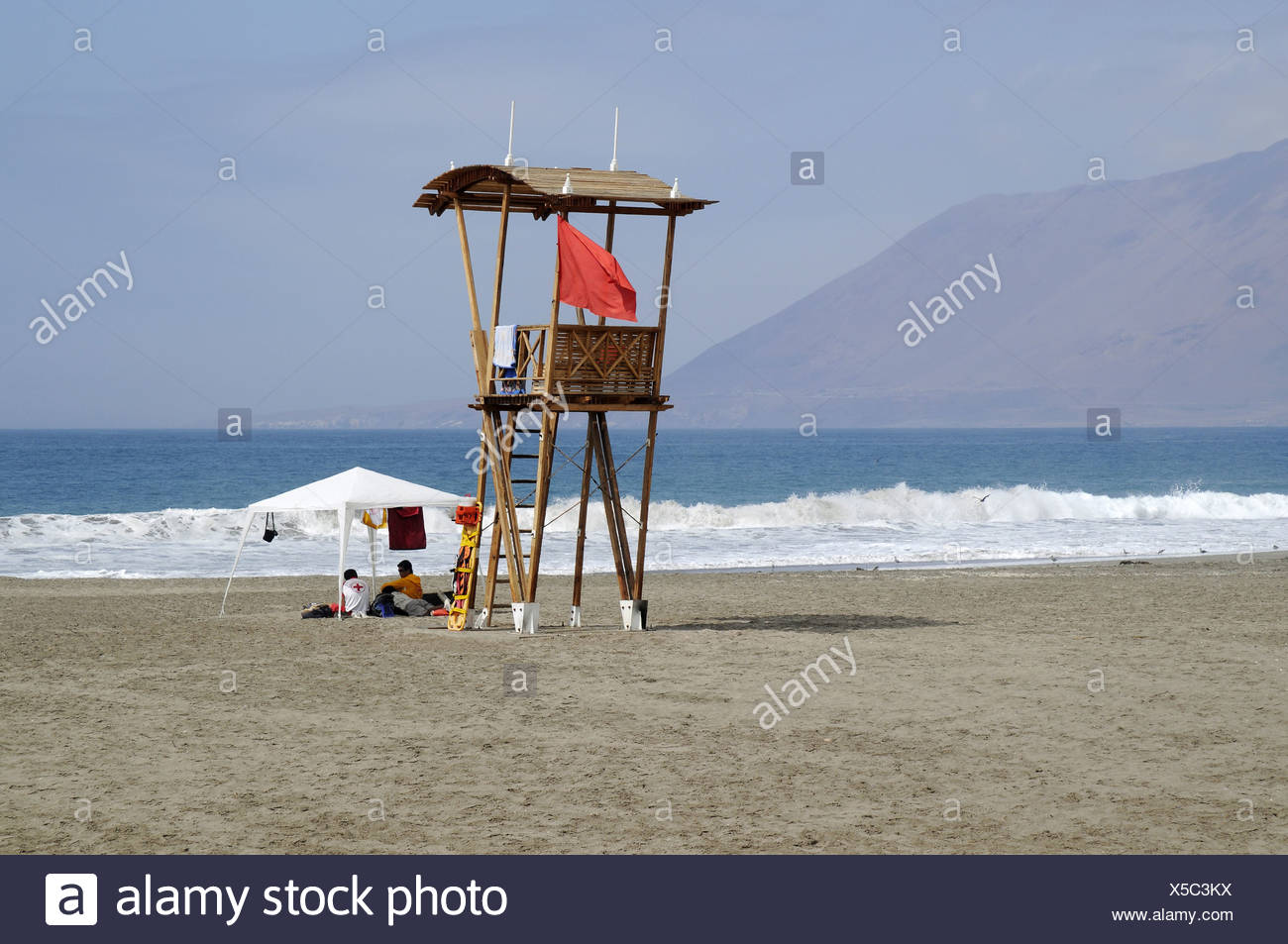 guard tower - Stock Image