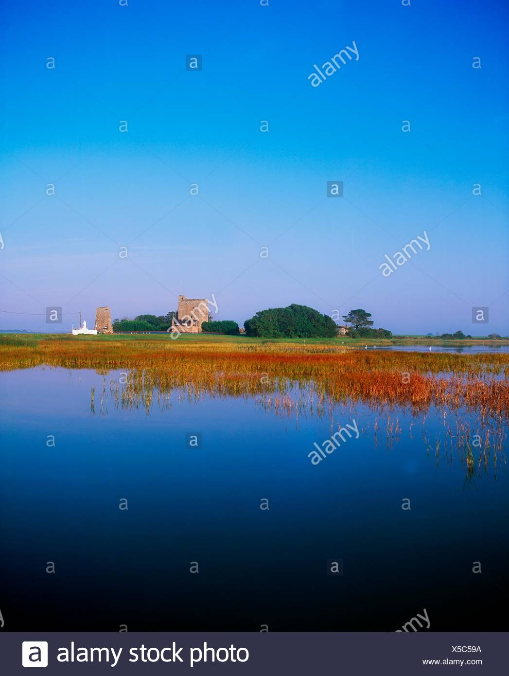 Lady's Island, Co Wexford, Ireland; Pilgrimage Site - Stock Image