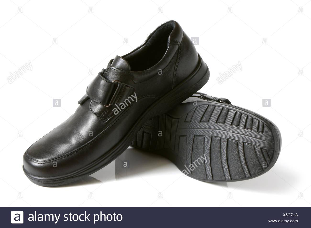 Black shoes - Stock Image