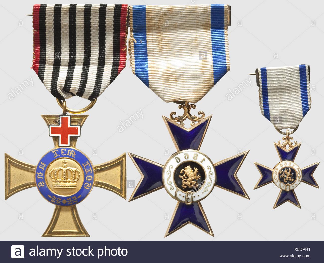 British Military Medals Stock Photos & British Military