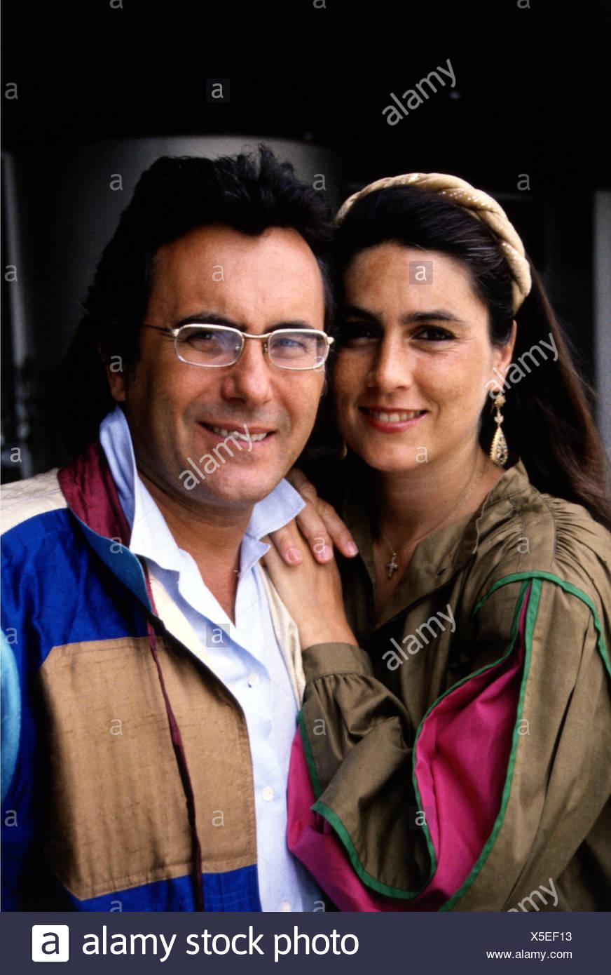 Power, Al Bano & Romina, 1970 - 1996, Italian pop duo, (Albano Carrisi and Romina Francesca Power), portrait, 1980s, singer, sin - Stock Image