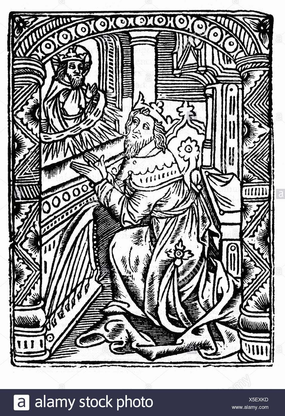 King David Bible High Resolution Stock Photography And Images Alamy