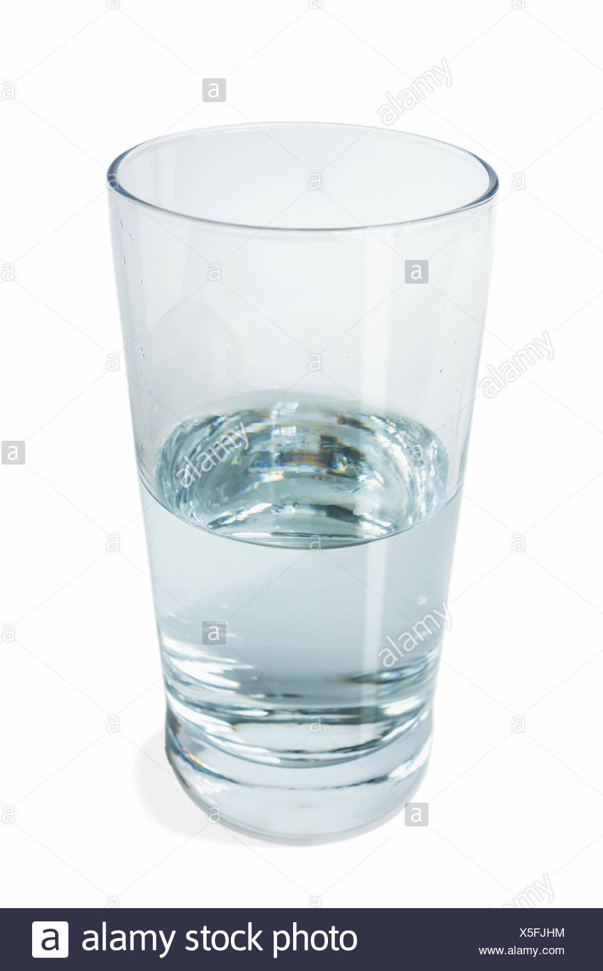 Half Full Glass Of Water Stock Photos Amp Half Full Glass Of