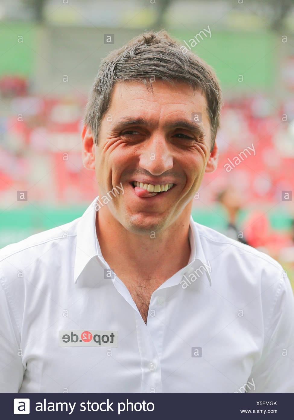 Coach Tayfun Korkut (1.FC Kaiserslautern) Stock Photo