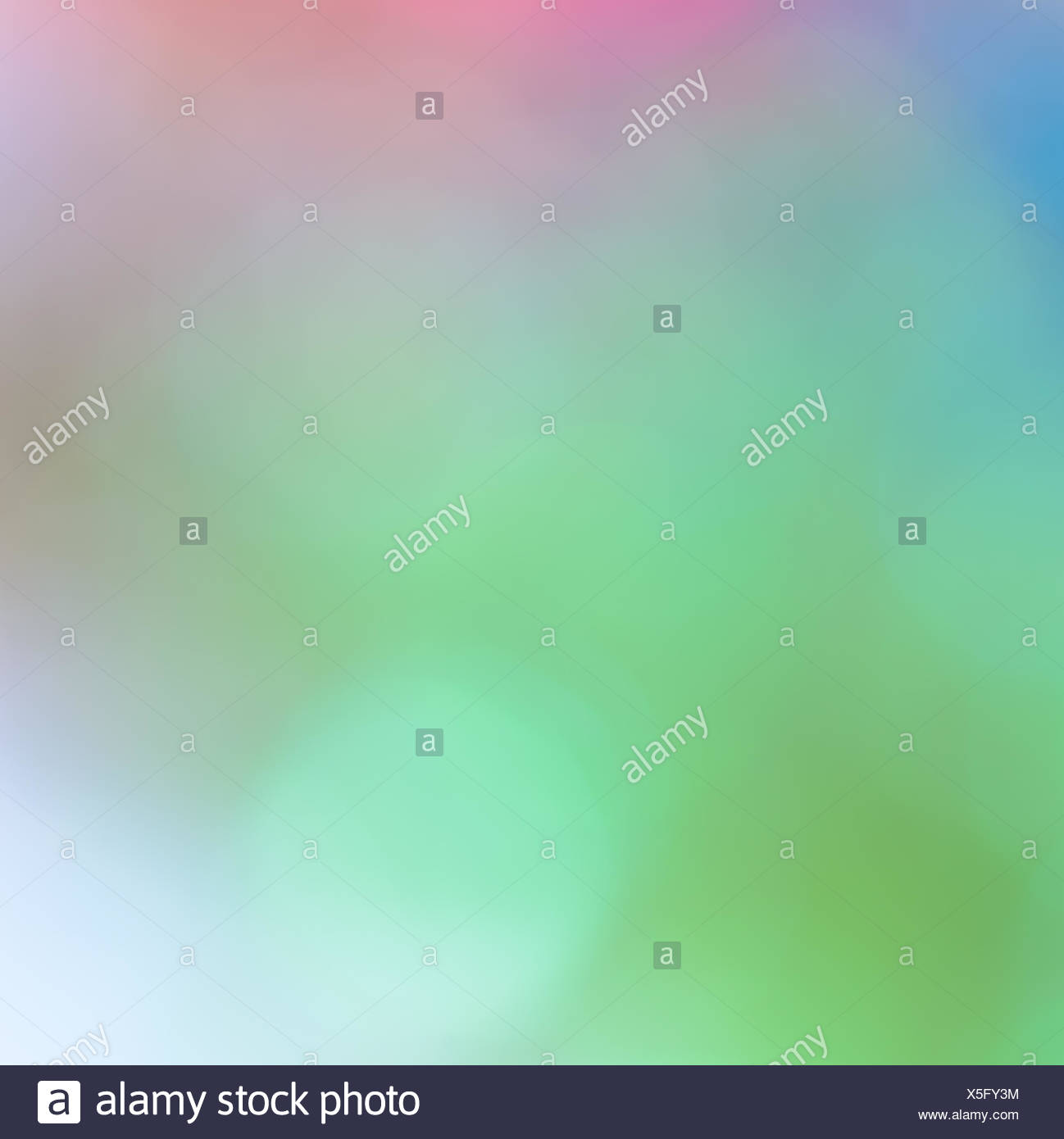 Colorful bokeh twinkling lights  background - Stock Image