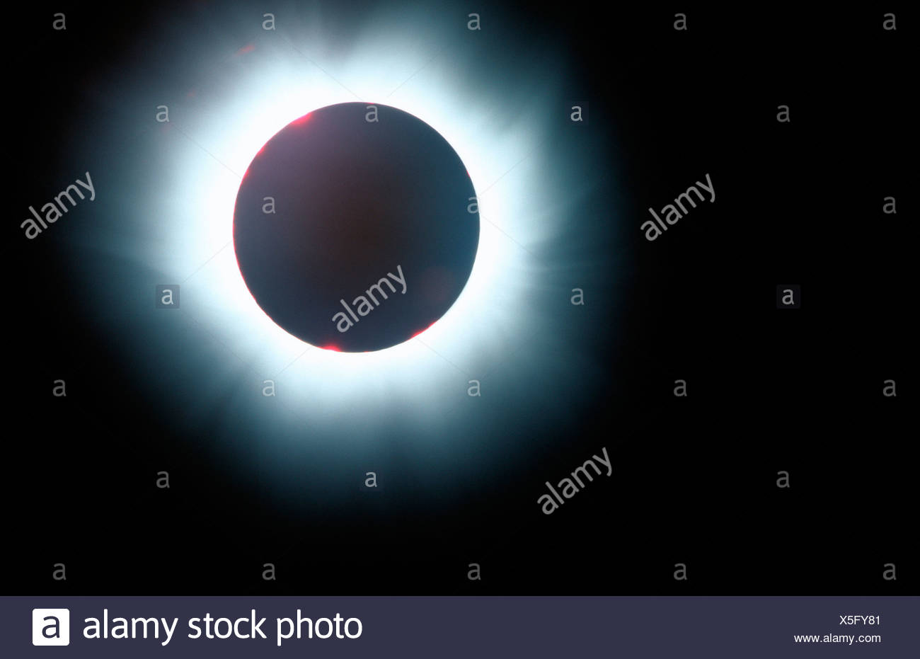 Eclipse of the sun - Stock Image
