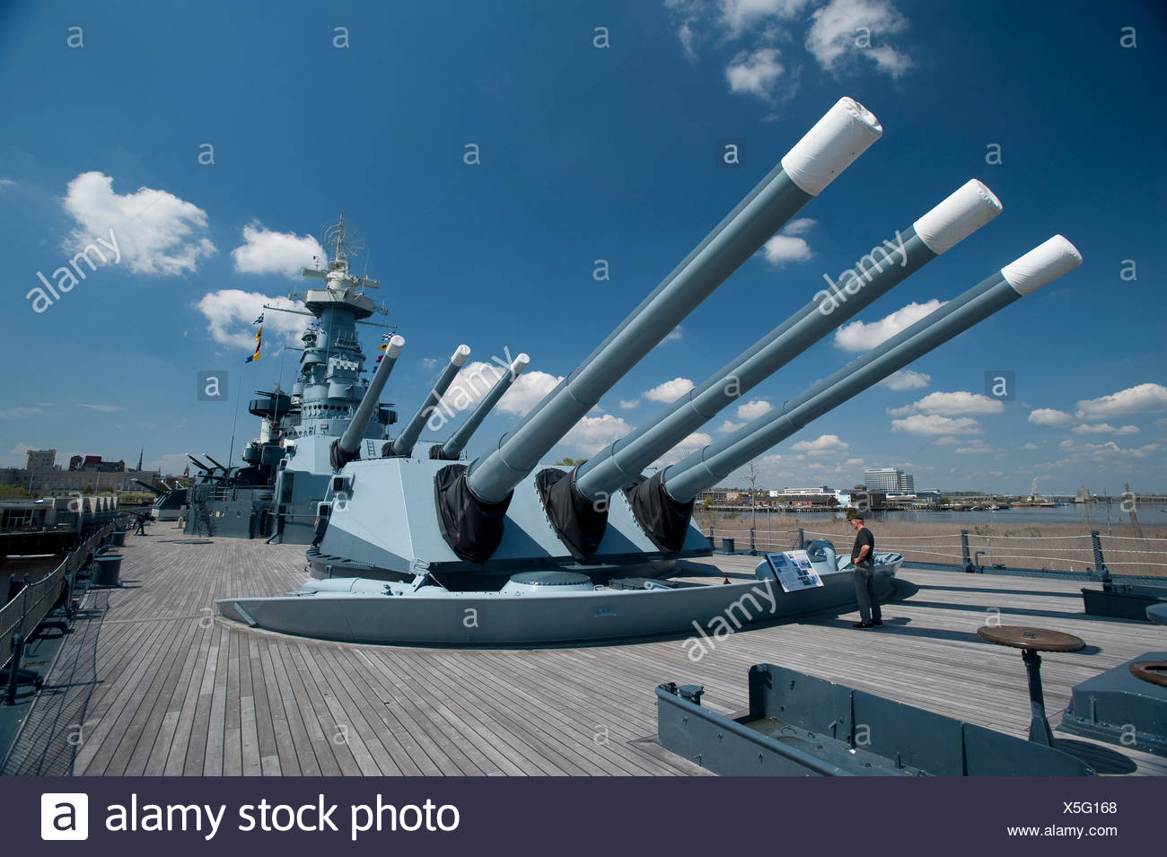 the-forward-turrets-of-the-battleship-us
