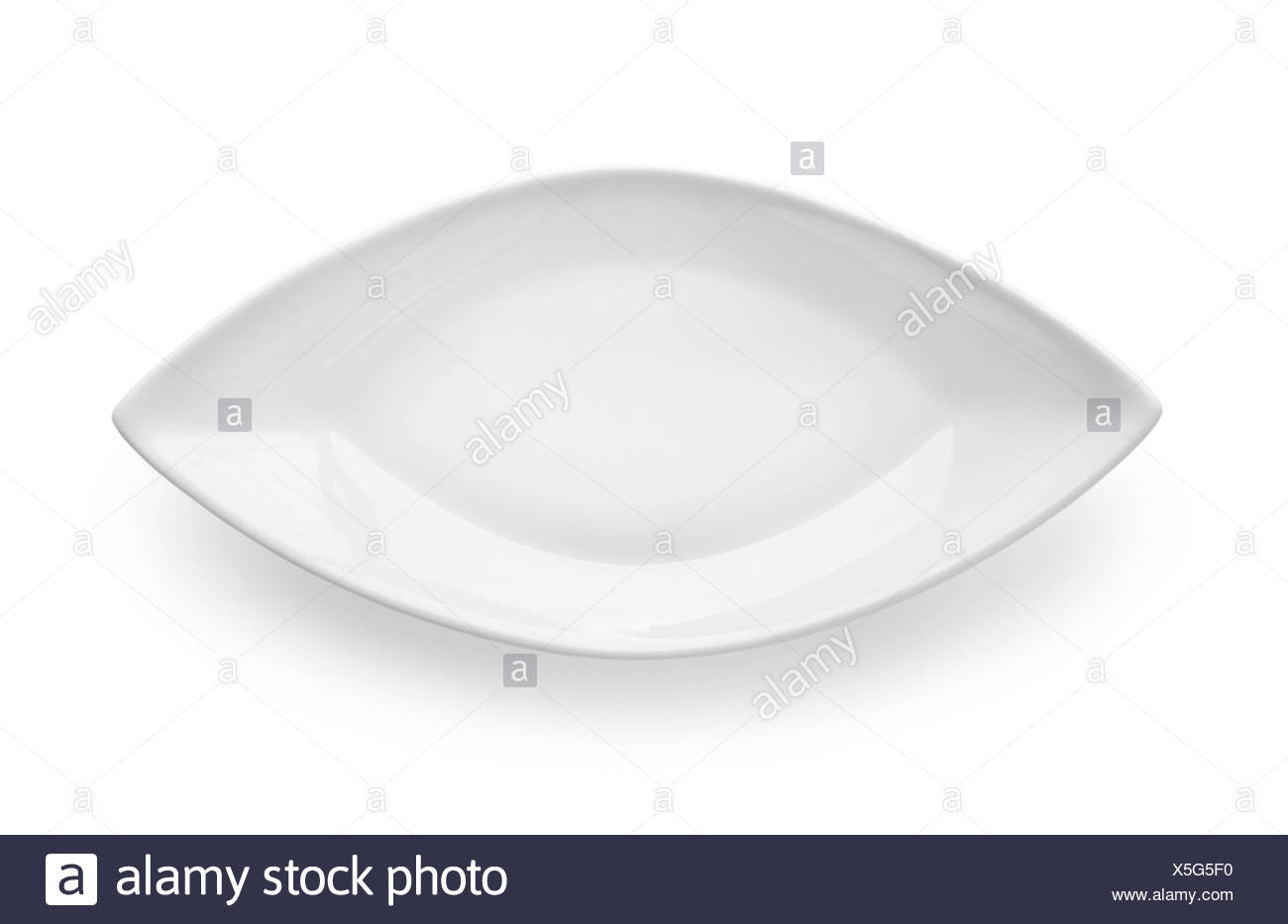 Utensils for fish isolated on a white background Path. - Stock Image