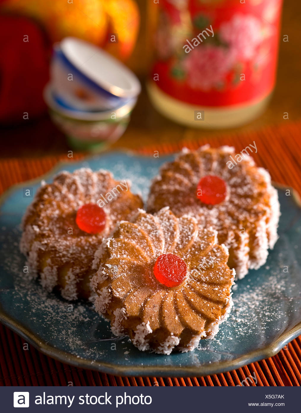 Coconut Sweets - Stock Image