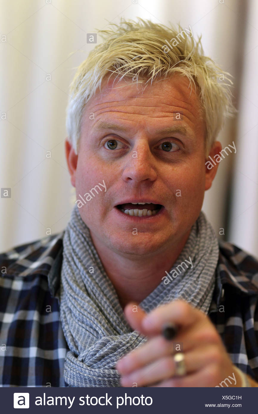 The comedian Guido Cantz - Stock Image