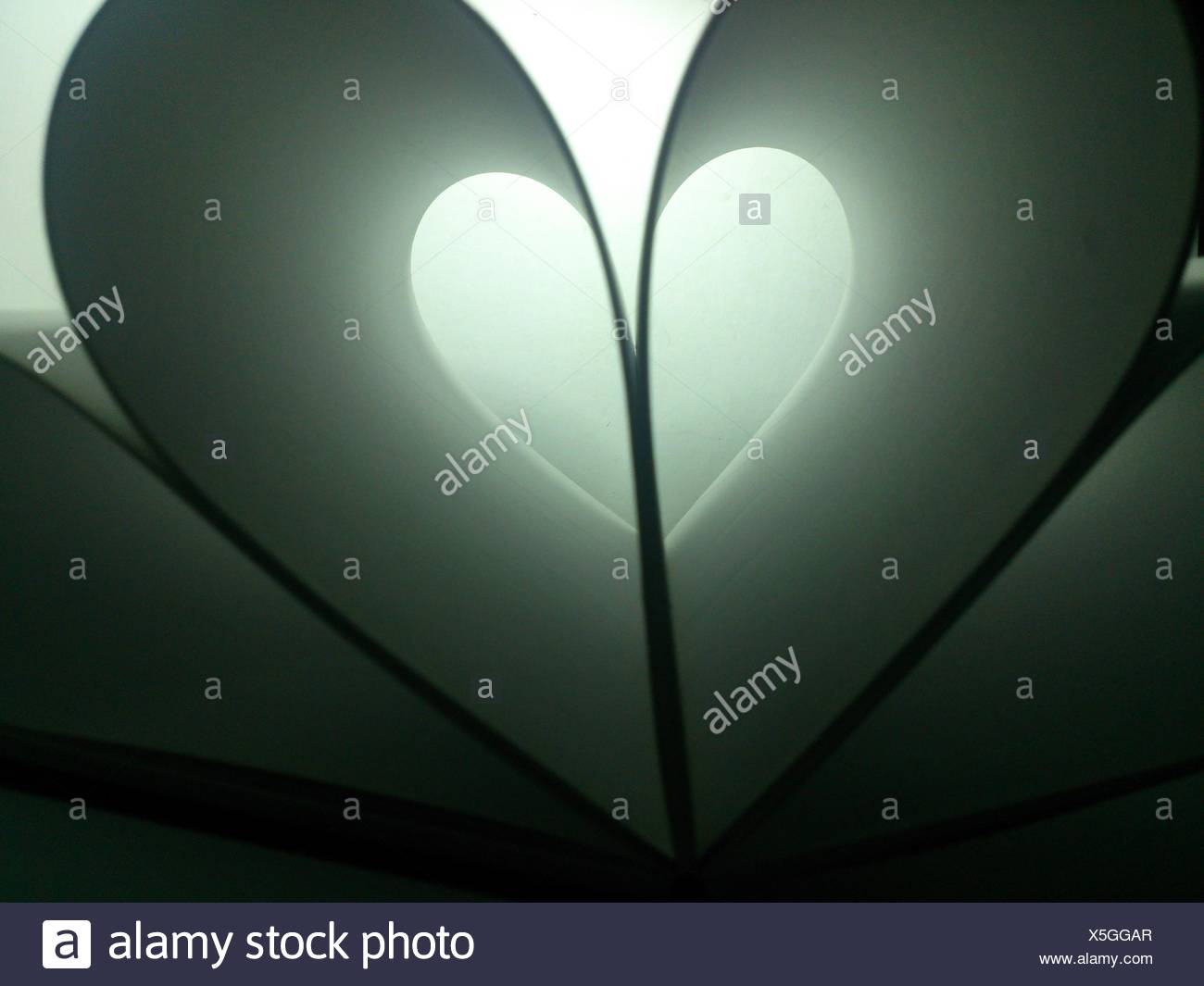 Paper Heart - Stock Image