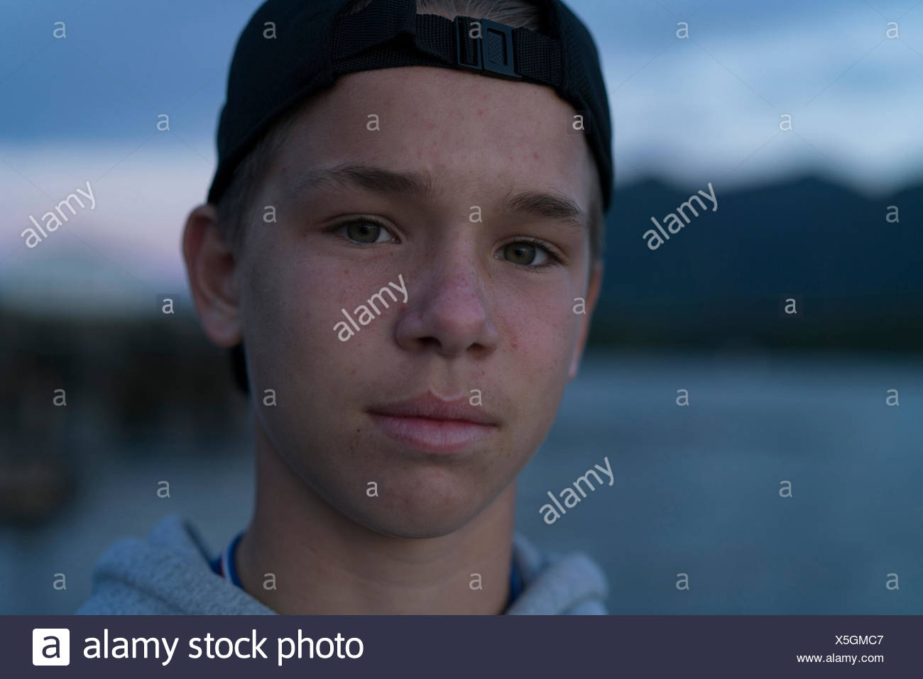 Troutdale Dining Room Teenage Male Wearing Baseball Cap Stock Photos Amp Teenage