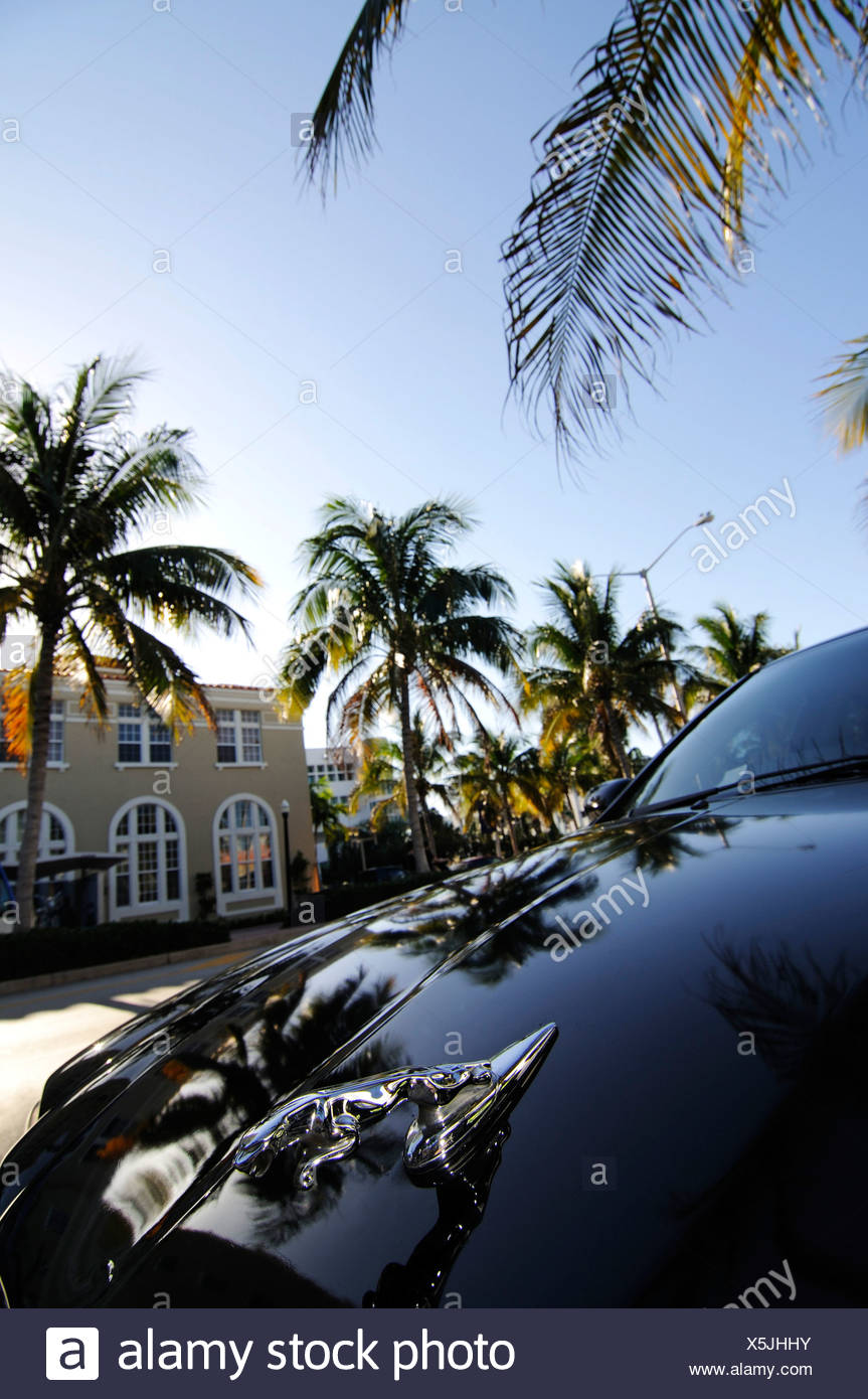 Miami South Beach, Art Deco district, Florida, USA - Stock Image