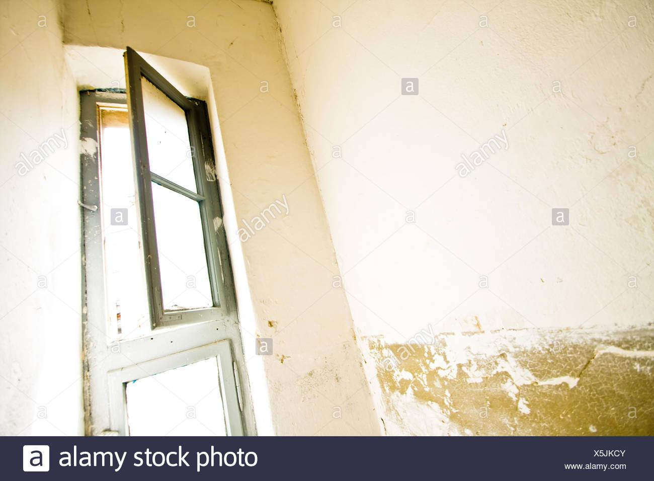 window, open Stock Photo