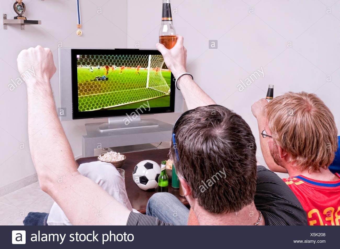 sport sports football fan - Stock Image