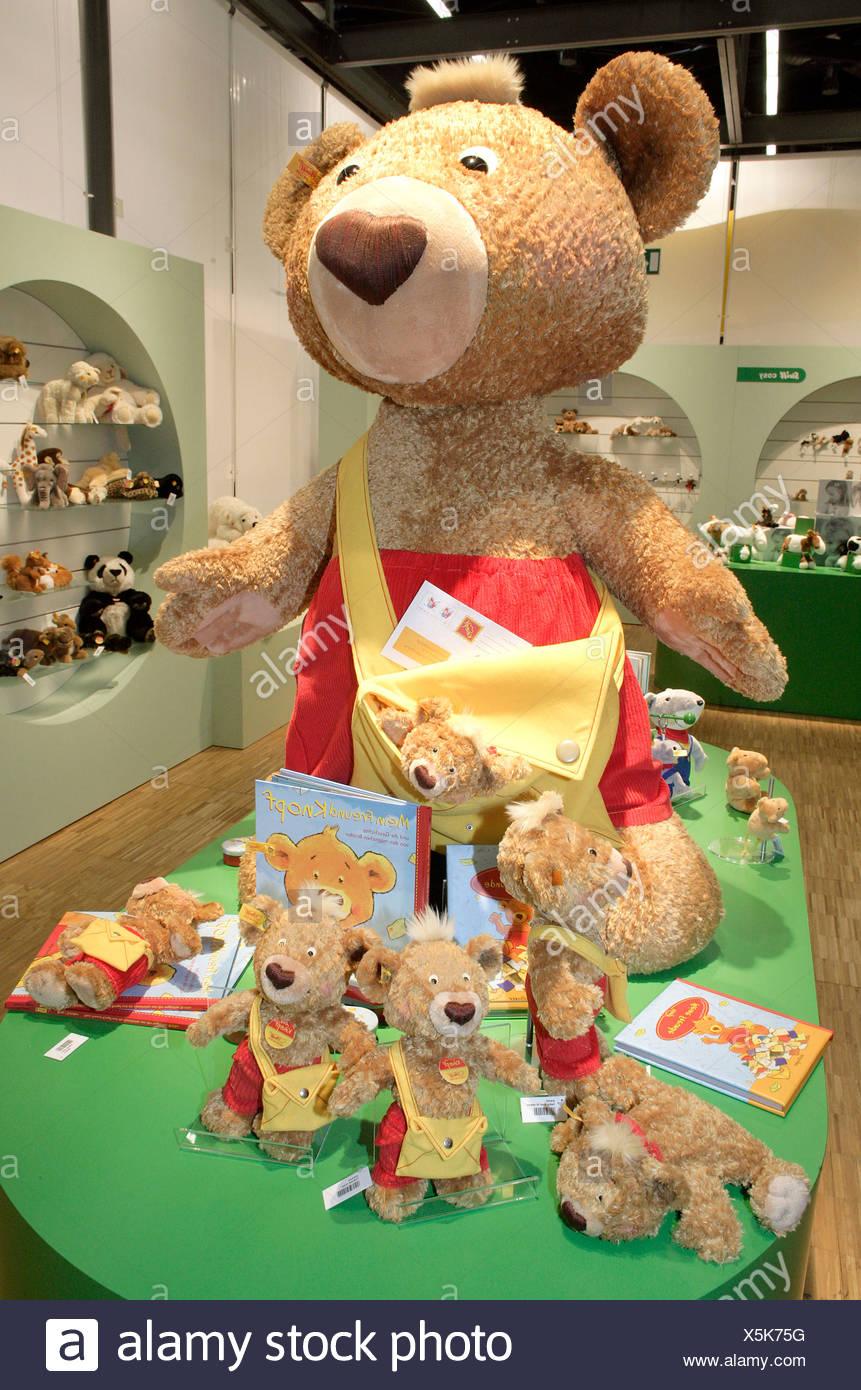4d897ee3506 Newcomer teddy bear 'Mein Freund Knopf' by teddy bear manufacturing company  Margarete Steiff GmbH