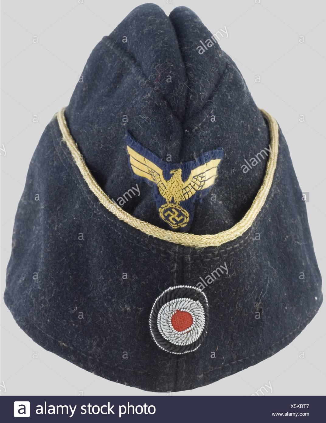 WW2 Repro Navy Side Cap Hat White Sailor Kriegsmarine EM NCO White Sidecap