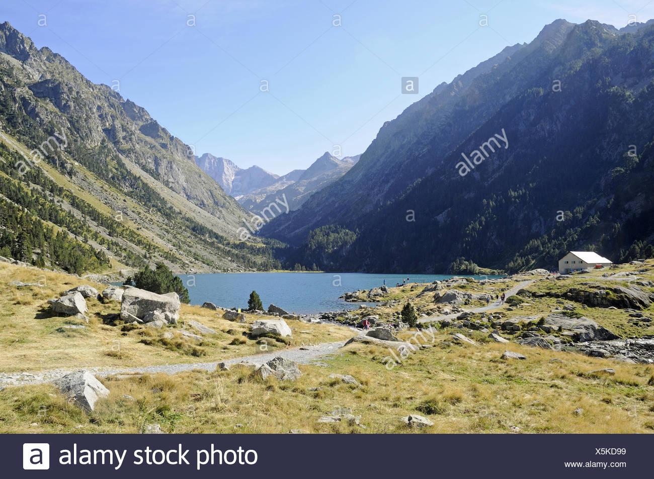 landscape, Cauterets, Midi-Pyrenees, France Stock Photo