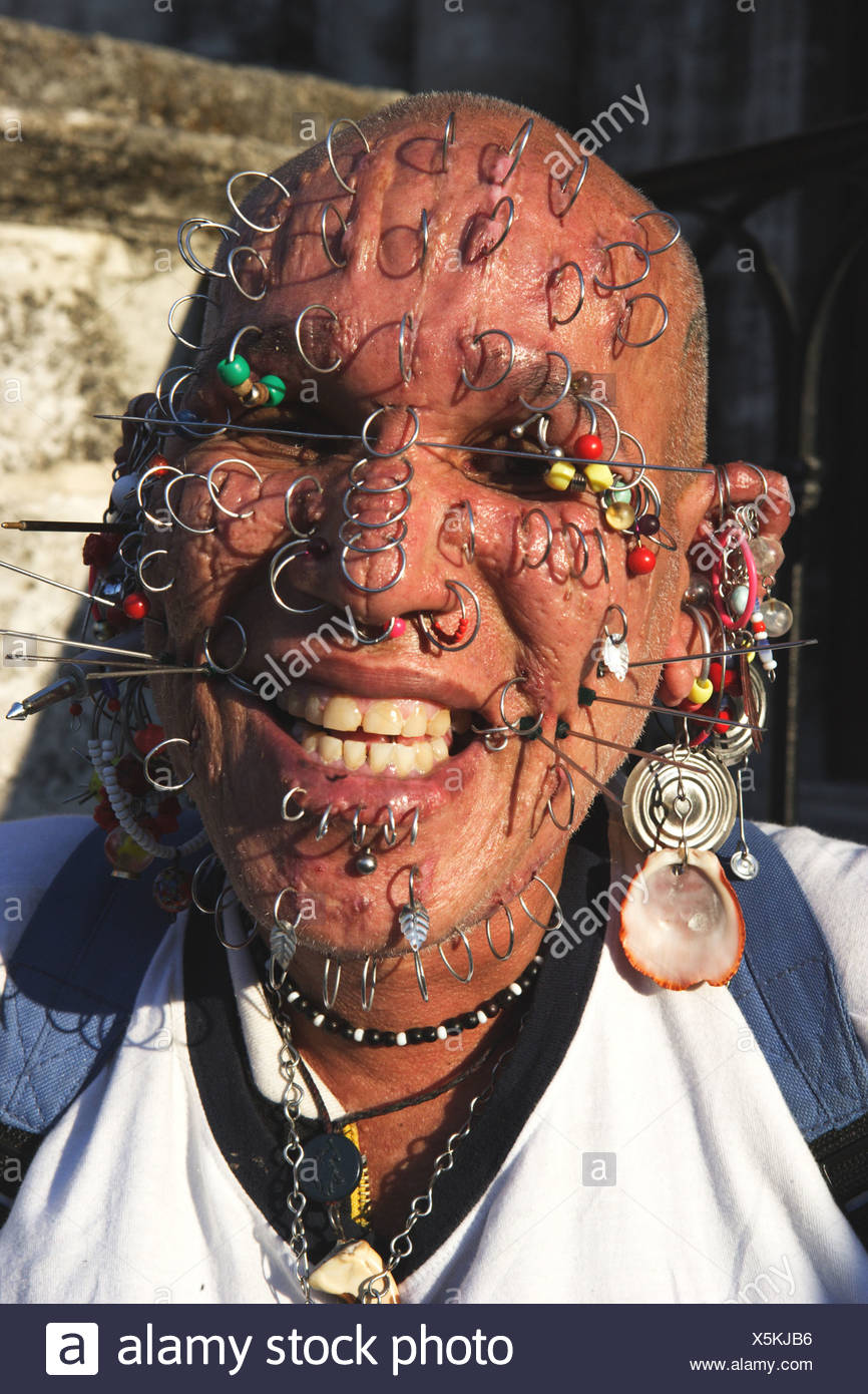 Face Piercings Stock Photos & Face Piercings Stock Images - Page 2 - Alamy