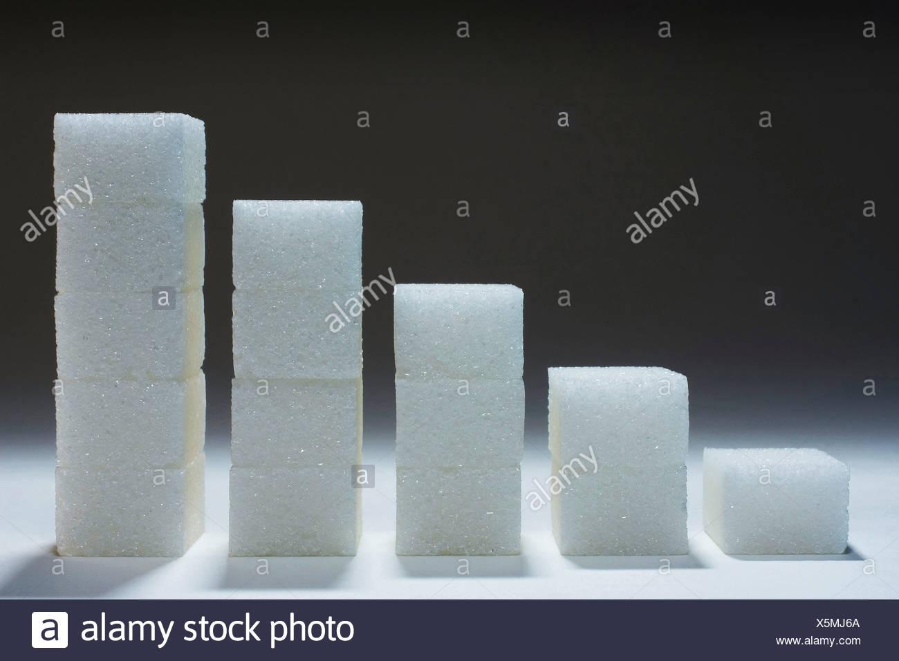 Sugars - Stock Image