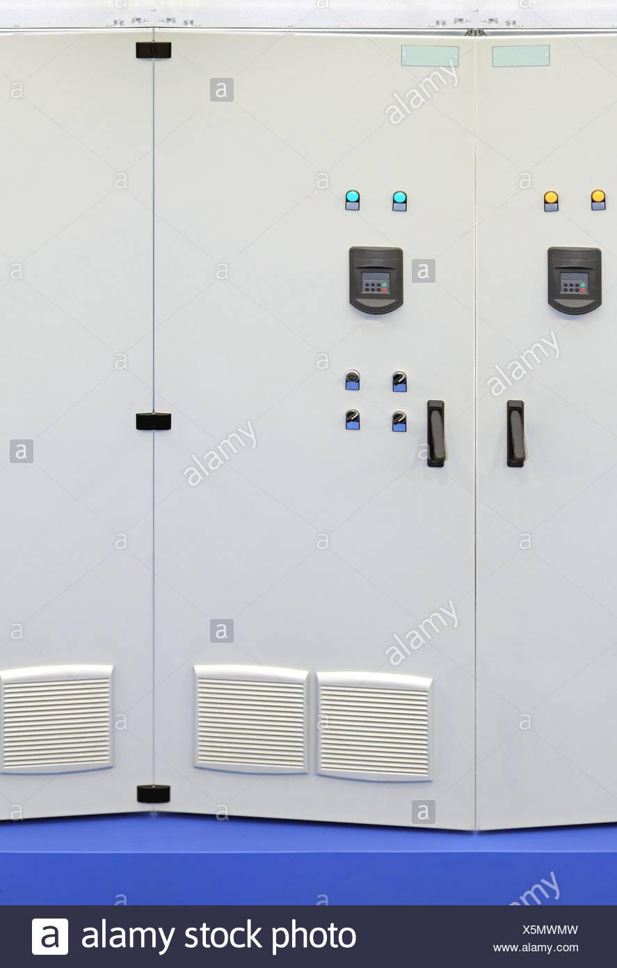 Industrial Voltage Regulator - Stock Image