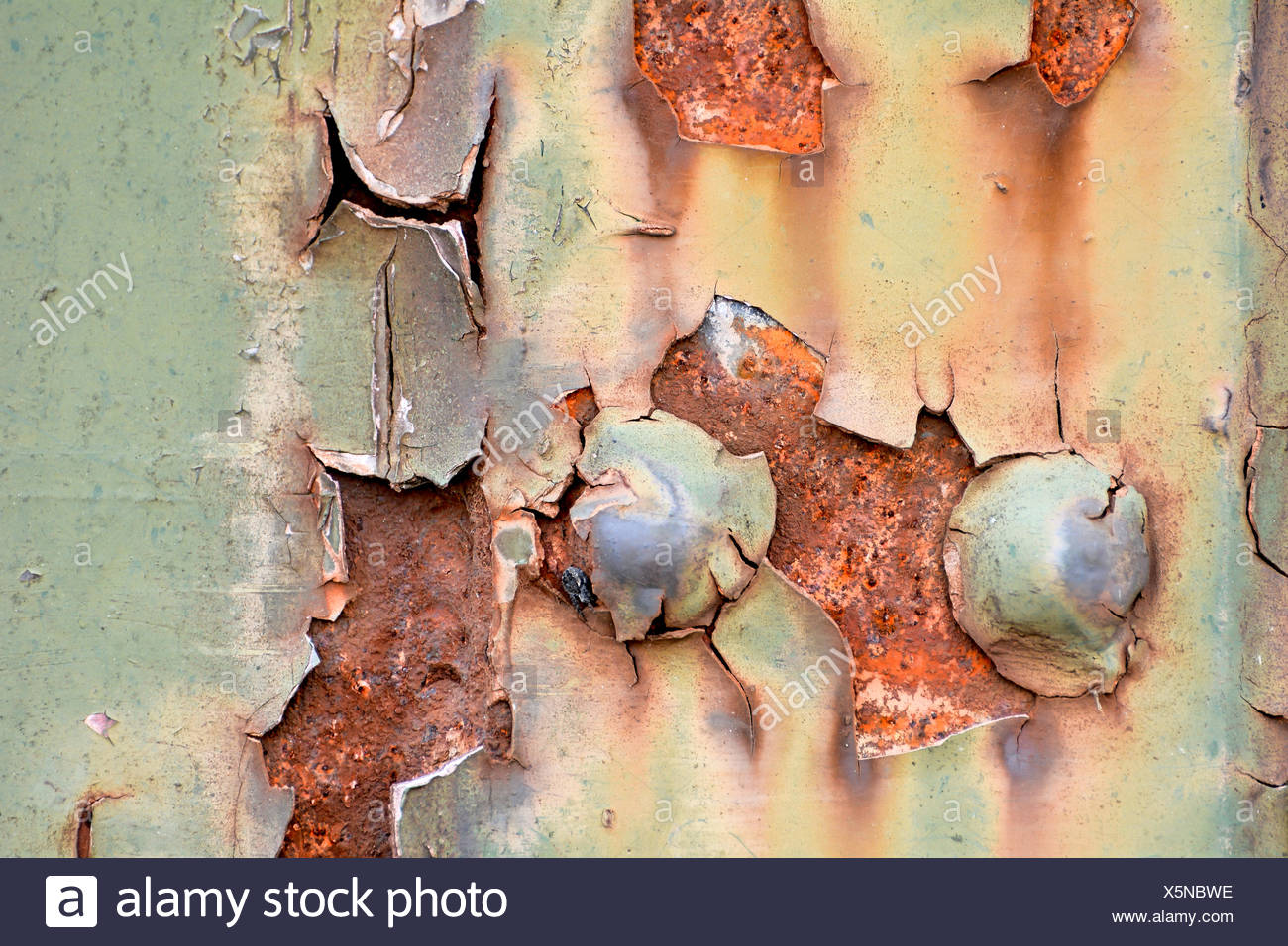 rusted steel Stock Photo