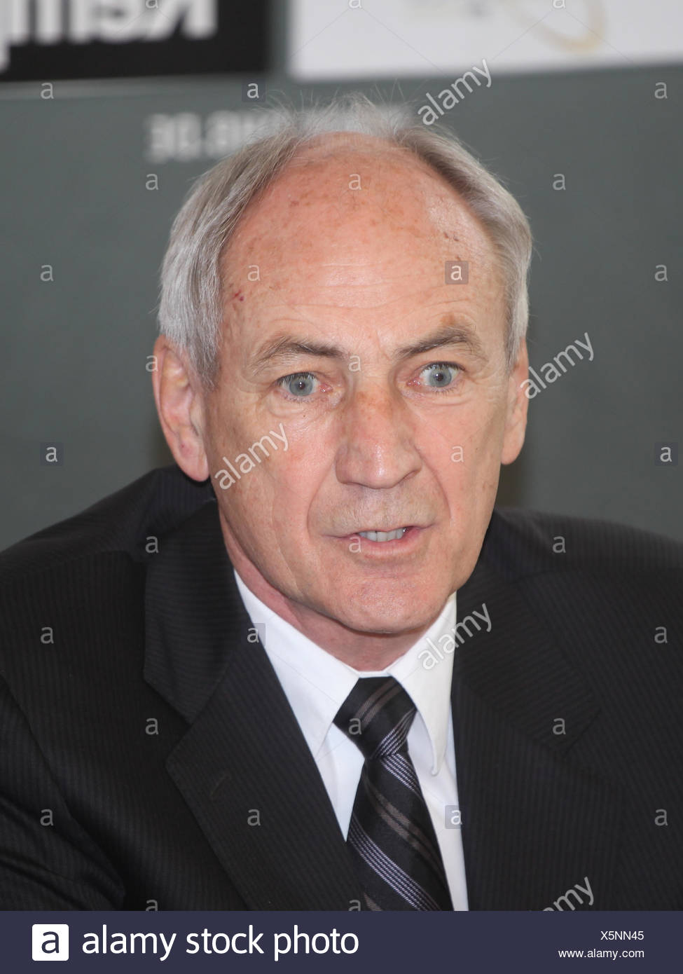 Bernhard Bauer - Stock Image