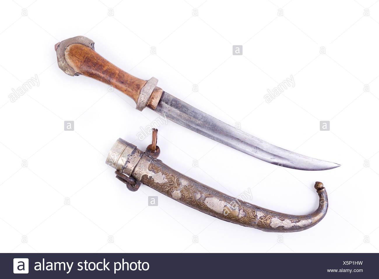 Morocco dagger, 19. century Stock Photo