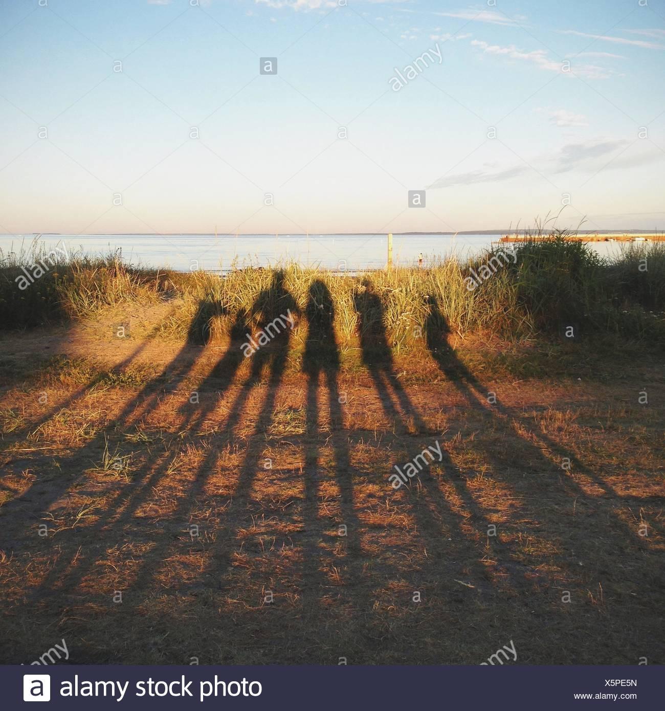 Norway, Family portrait - Stock Image