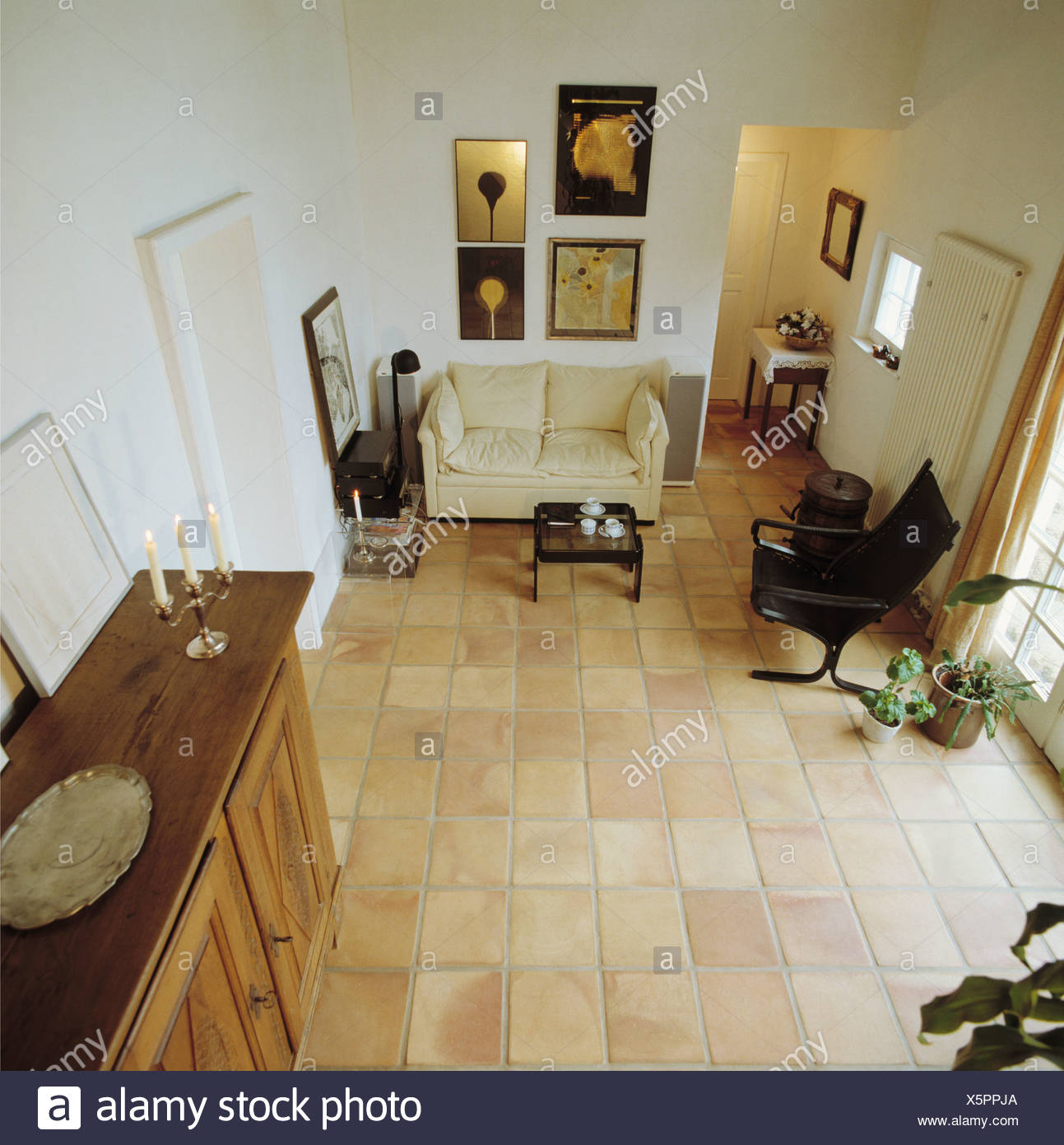 Aerial View Of Livingroom Stock Photo 278939874 Alamy