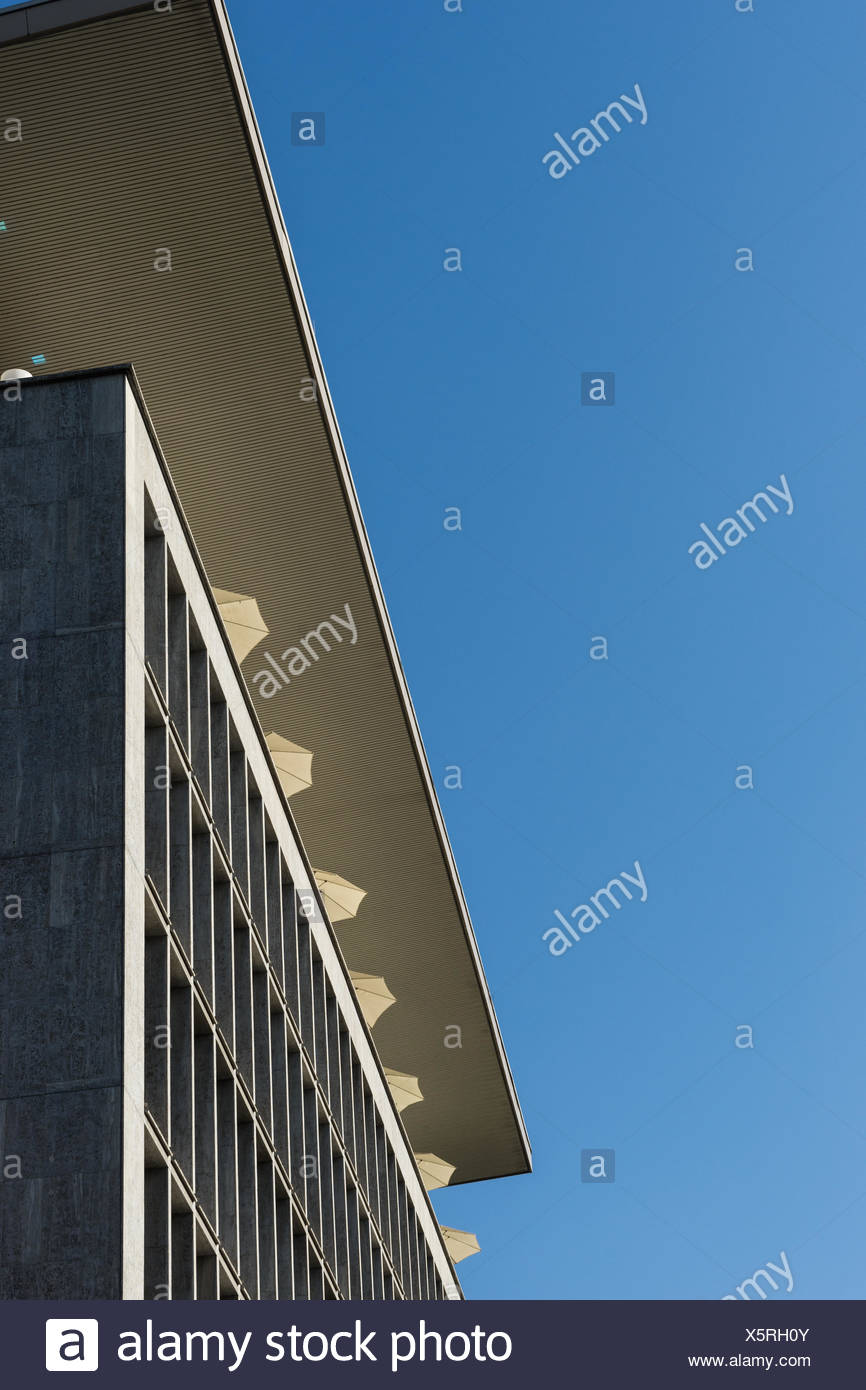 Bayer House and Fleming's Hotel, Frankfurt - Stock Image