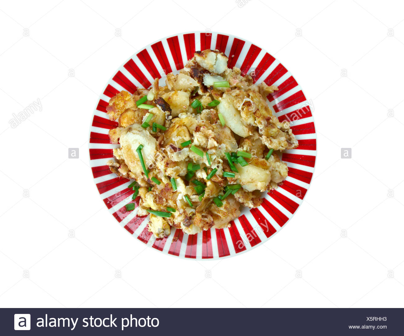 Curried Hash Brown Scramble - Stock Image