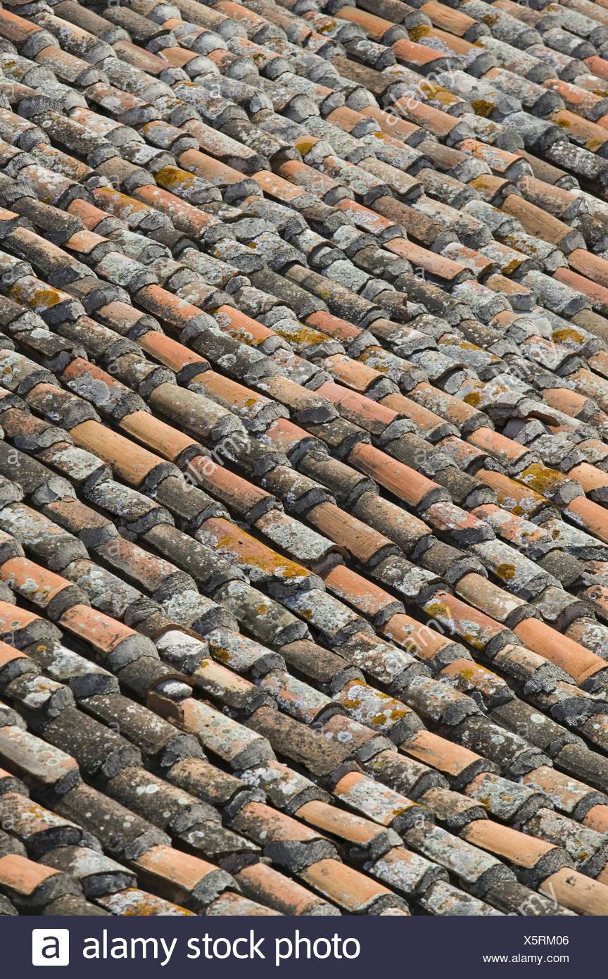 Ziegeldach, Detail, Haus, Hausdach, Dach, Dachziegel, Dachabdeckung, Ziegel,
