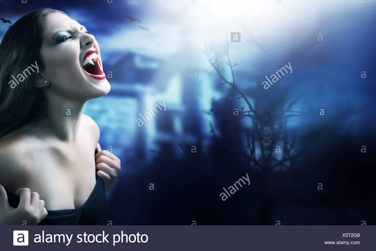 Vampire - Stock Image