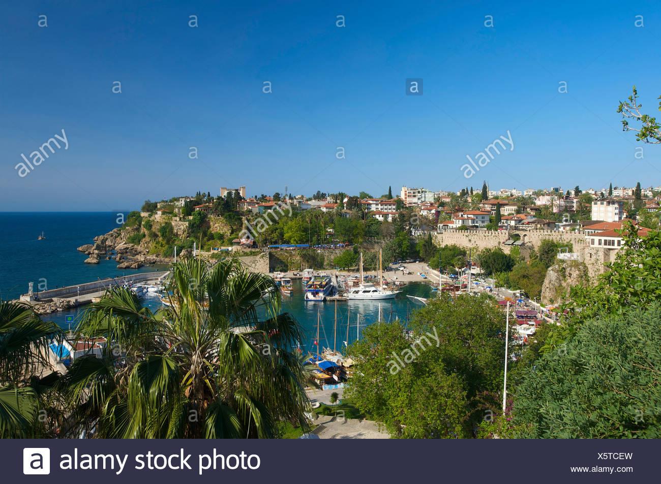 Port of Antalya, Turkish Riviera, Turkey - Stock Image