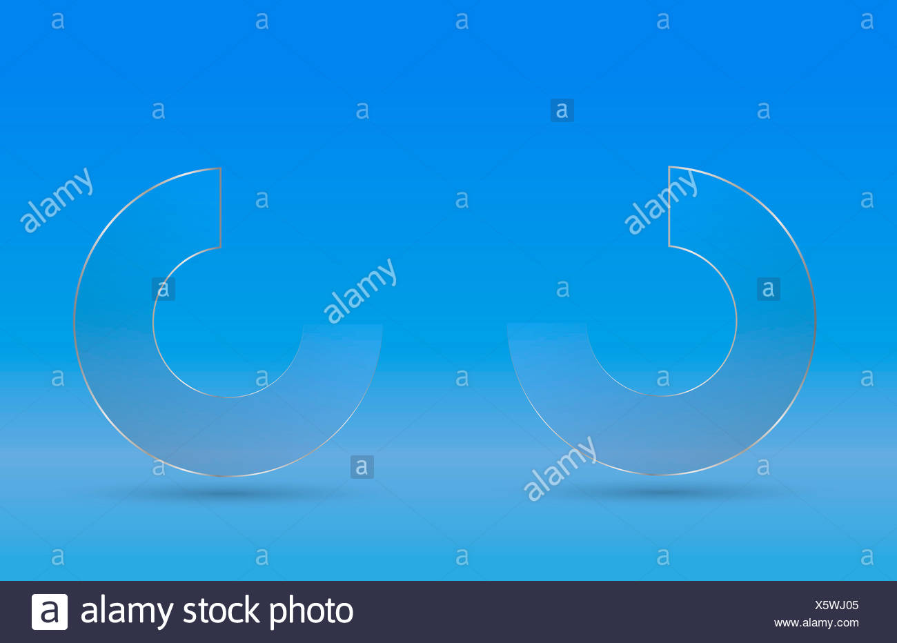 ring disc - Stock Image