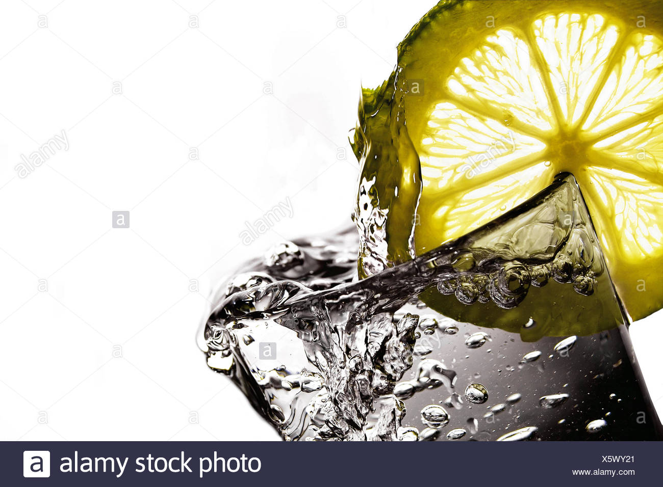 Thirst quencher - Stock Image