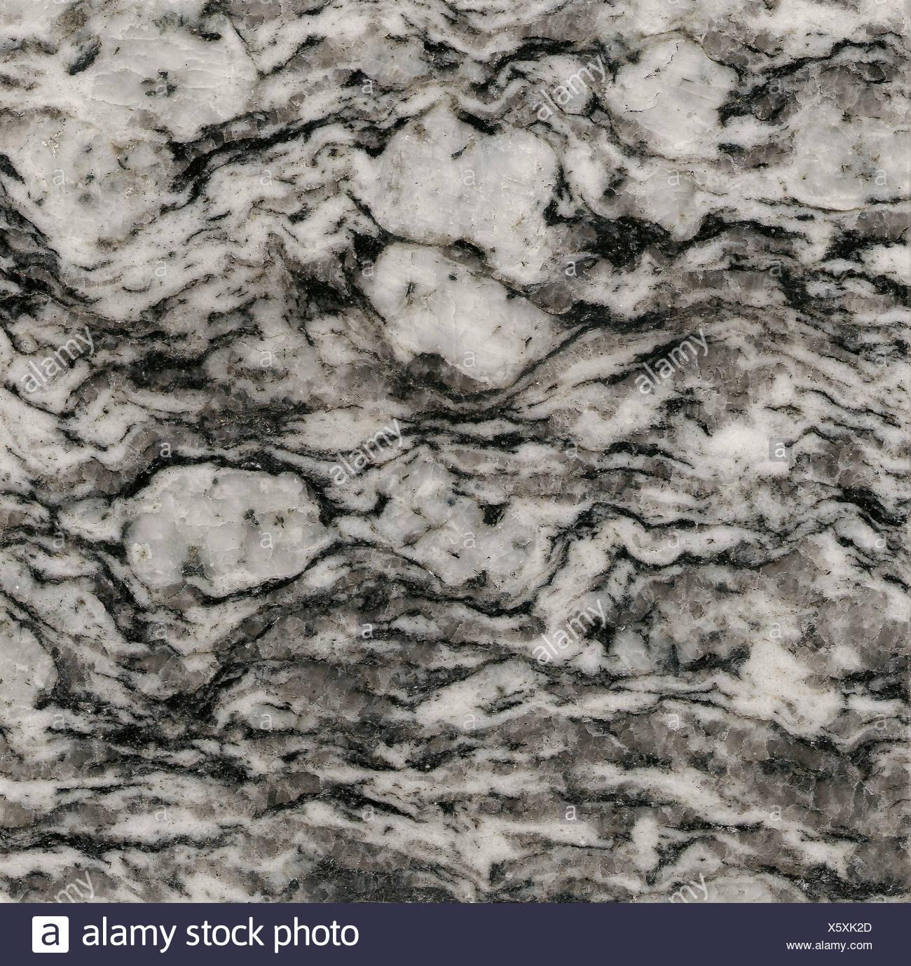 Grey granite - Stock Image